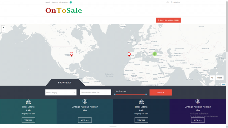 ontosale.com the one stop